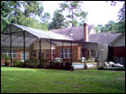 Bronze Gable-Hip Style Pool Enclosure