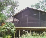 Wood & Aluminum Pergolas, Covered Walkways, Pool Fences, Glass Rooms, Ornamental Aluminum Fences, Pool Barrier - Child Resistant Safety Fence, Commercial & Residential Chain Link, Patio Roofs, Florida Rooms, Carports, Wood & Vinyl Fences, Vinyl Siding, Pool Enclosures, Aluminum Railings