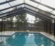 Pool Barrier - Child Resistant Safety Fence, Wood & Aluminum Pergolas, Aluminum Railings, Pool Enclosures, Carports, Glass Rooms, Patio Roofs, Pool Fences, Florida Rooms, Ornamental Aluminum Fences, Commercial & Residential Chain Link, Vinyl Siding, Covered Walkways, Wood & Vinyl Fences