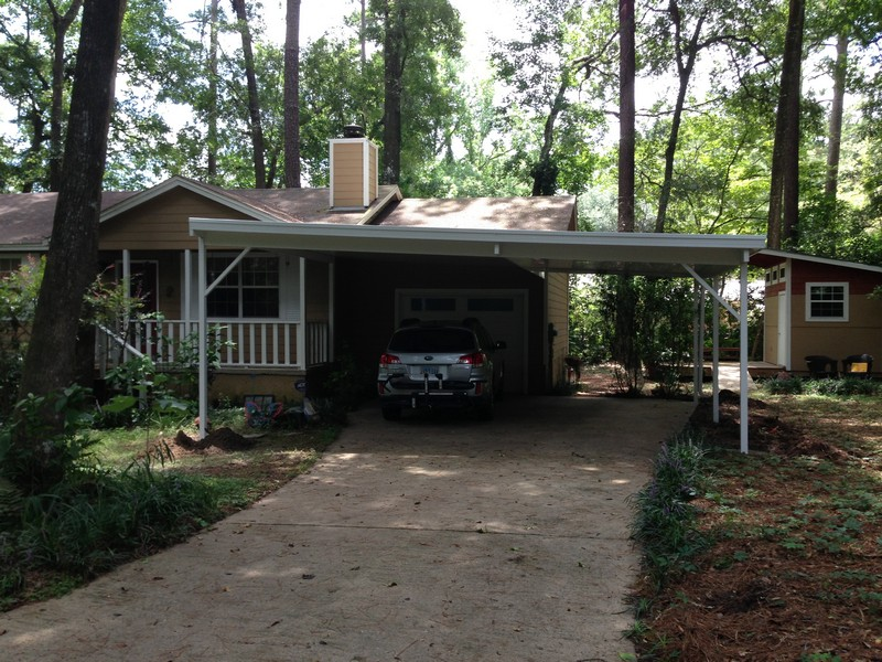 Carports With Metal Fencing : Florida fence screen rooms covered